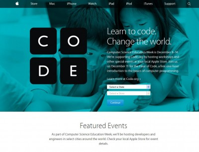 Apple Rilis Pogram Baru 'Hour of Code'