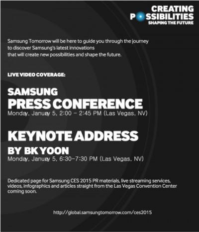 CES 2015, Samsung Siap Acara Khusus Luncurkan Produk FlagshipBaru?