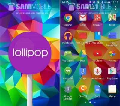 Samsung Mulai Gulirkan Update Lollipop ke GalaxyS5
