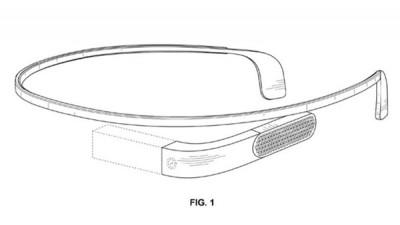Paten Baru Tujukkan Disain Google Glass LebihRamping