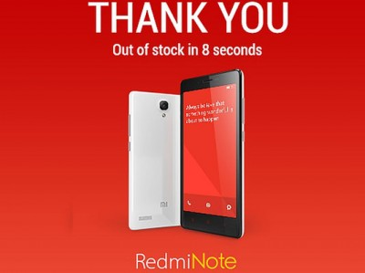 75 Ribu Unit Redmi Note Terjual Dalam 8Detik!